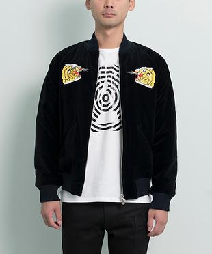 ROLL TIGER EMBROIDERY BLOUSON