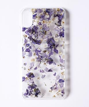 iPhone X/ACRYLIC FLOWER CASE